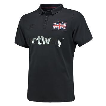 UMBRO - Camiseta de West Ham 3rd de Manga Corta - Réplica de la ...