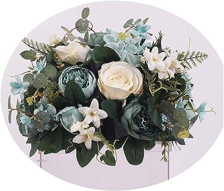 Centro de Mesa de Boda con Flores Artificiales para decoración de ...