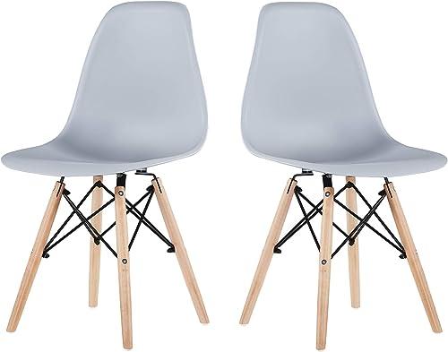 Conput Modern Dining Chair Mid Century Set of 2