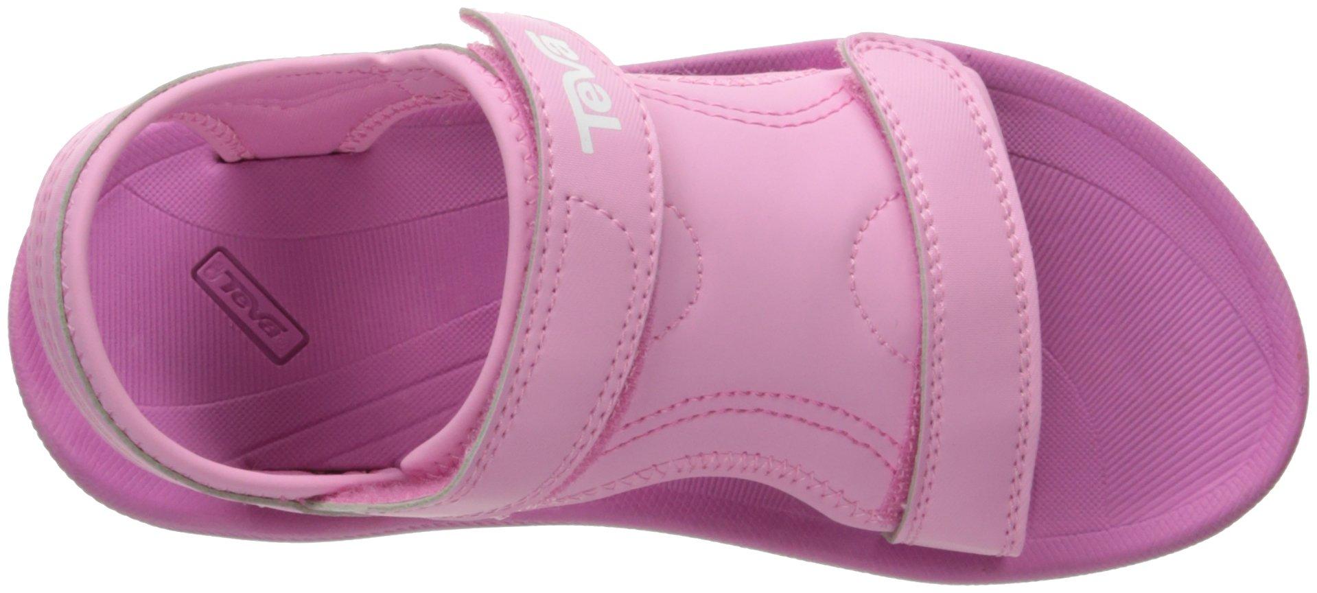 Teva Girls' Psyclone 4 Sandal, Pink, 1 M US Little Kid by Teva (Image #8)
