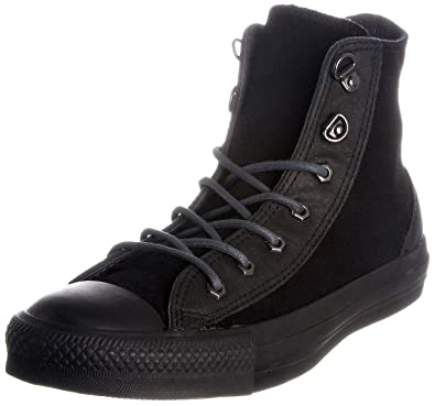 23de2a09c31 Converse Chuck Taylor Men s Suede Leather Black Hiker Hi Top 117273 ...
