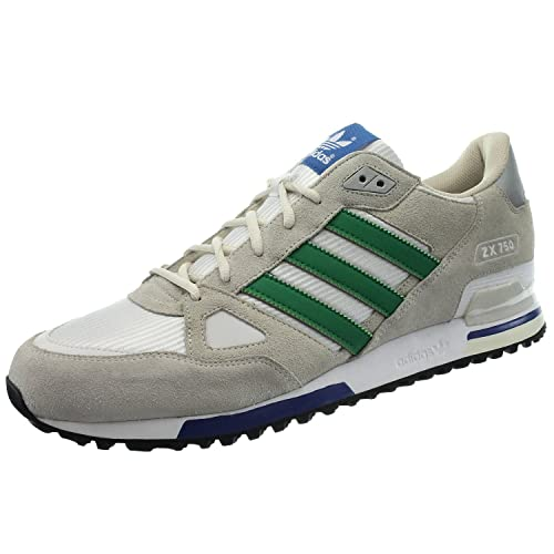 newest collection a3075 637d2 adidas ZX 750, Scarpe da Uomo Bianco Size  48 2 3 EU  Amazon.it  Scarpe e  borse