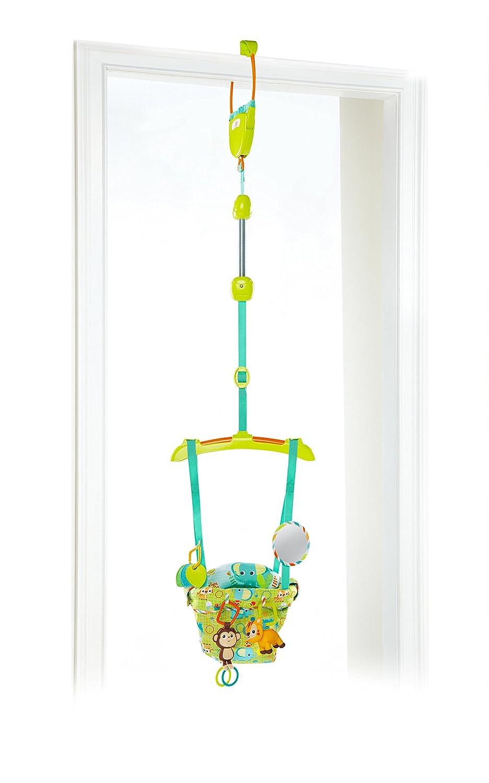 Bright Starts, Smiling Safari Deluxe Door Jumper Kids II UK Limited 10837-3