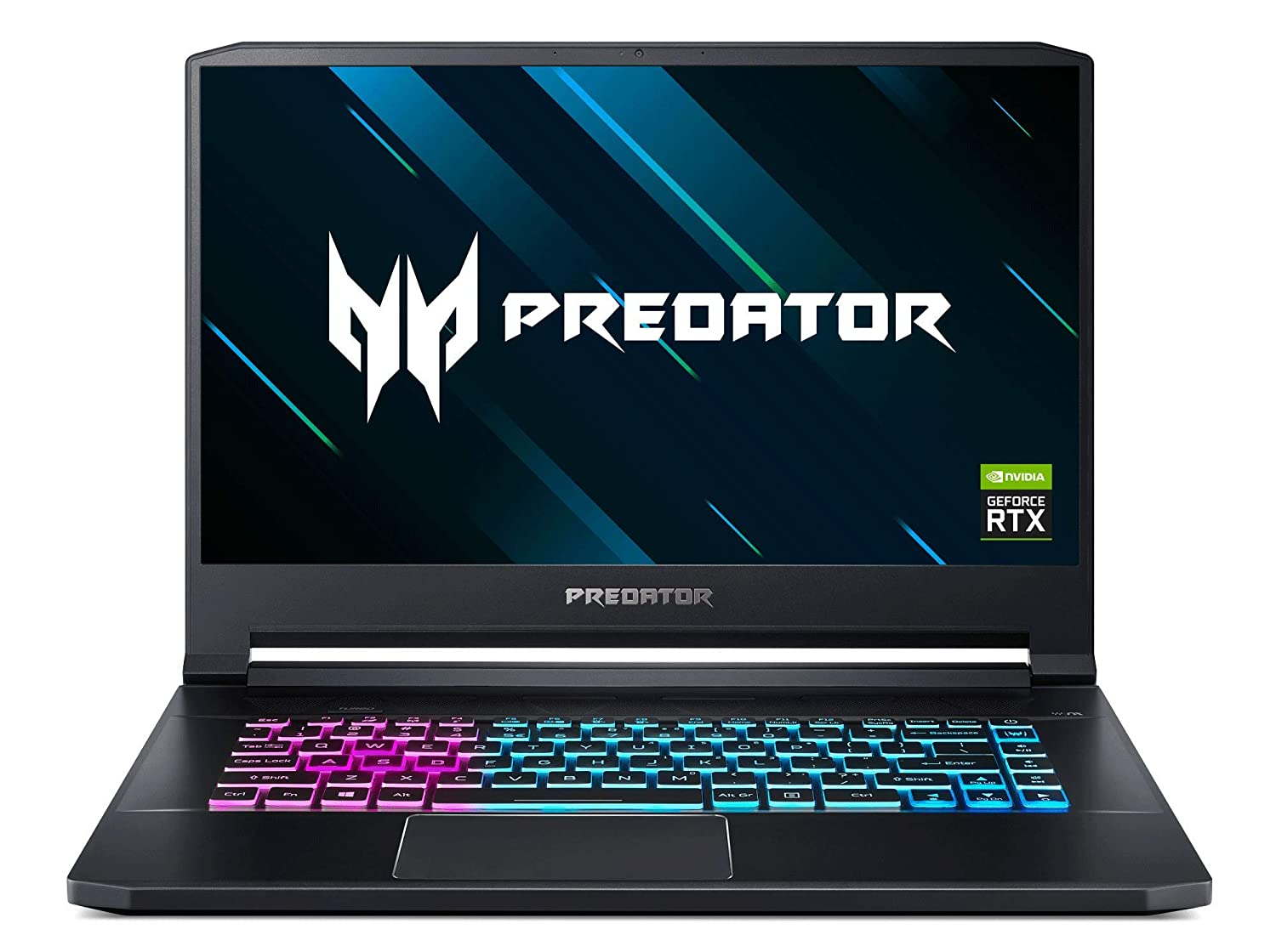 "Acer Predator Triton 500 Thin & Light Gaming Laptop, Intel Core i7-9750H, GeForce RTX 2060 with 6GB, 15.6"" Full HD 144Hz 3ms IPS Display, 16GB DDR4, 512GB PCIe NVMe SSD, RGB Keyboard, PT515-51-75BH"