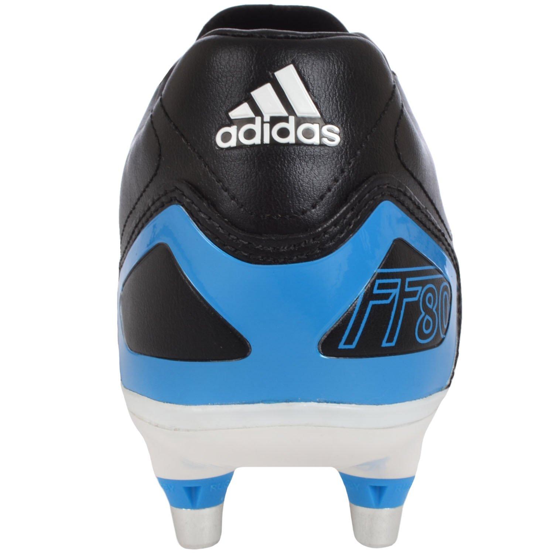 Adidas scarpe da rugby ff80 pro xtrx sg ii bianco e blu