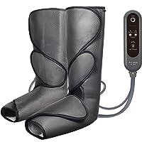 FIT KING Appareil de Massage pour Jambes et Pieds avec 2 Modes 3 Intensités et 10 Techniques de Massage pour l'amélioration de la Circulation et la Relaxation (Gris Foncé)