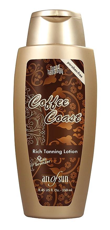 Art of sun Trend tano Logy Coffee Coast Rich TANNING Loción con bronzer 250 ml Solarium