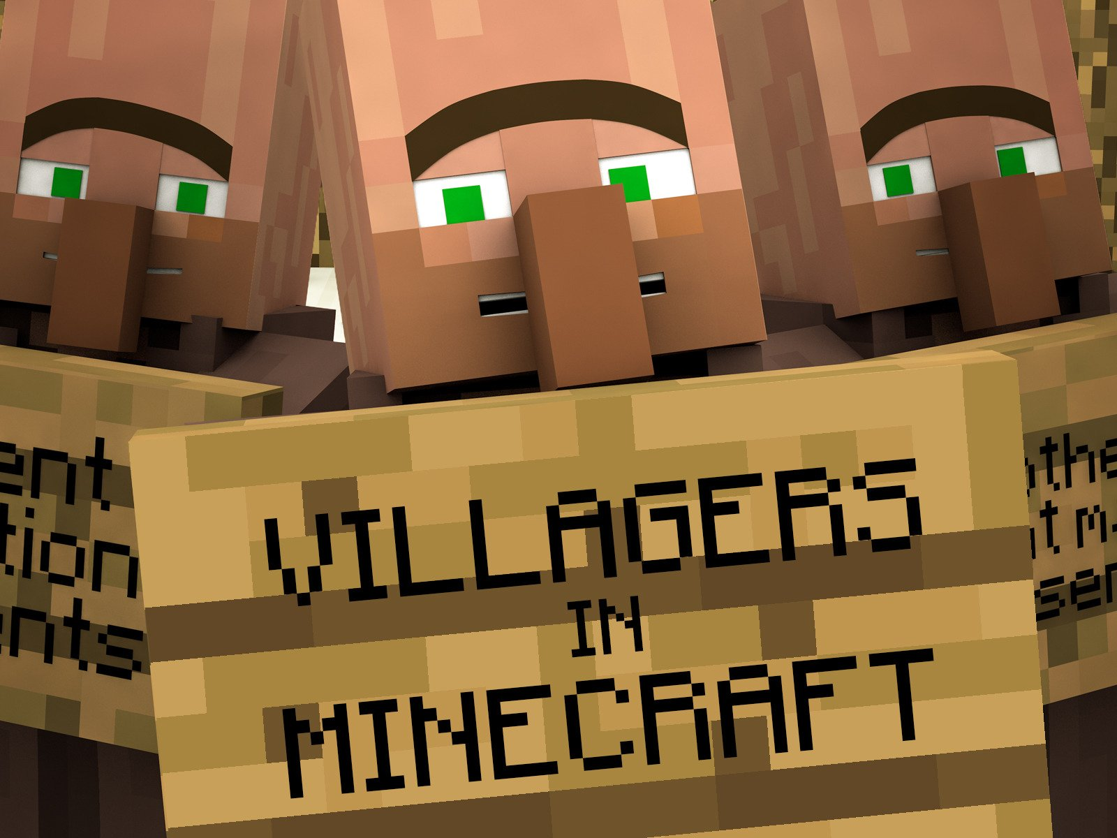 Amazoncom Watch Clip Villagers In Minecraft Prime Video