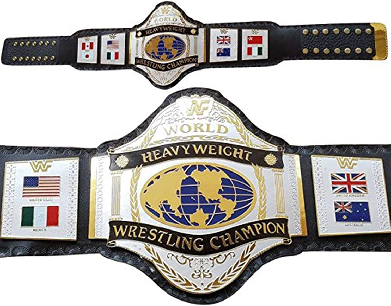 WWF Hulk Hogan 86 World Heavyweight Wrestling Championship Belt Adult (Brand New). 61s-qlTGJcLUL1200_