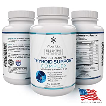 Best Thyroid Support for Hypothyroidism – Give Your Underactive Thyroid and  Metabolism a