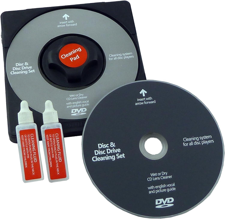 Dvd Laser Lens Cleaner Reinigung Disc Und Fluid Elektronik