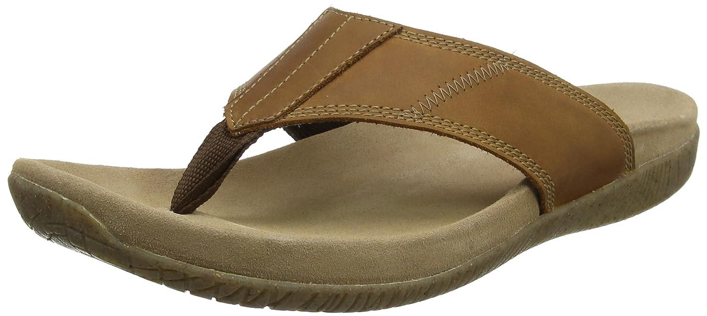 9fe8b31b0b53 Hush Puppies Men s Mutt Toepost Open Toe Sandals  Amazon.co.uk  Shoes   Bags