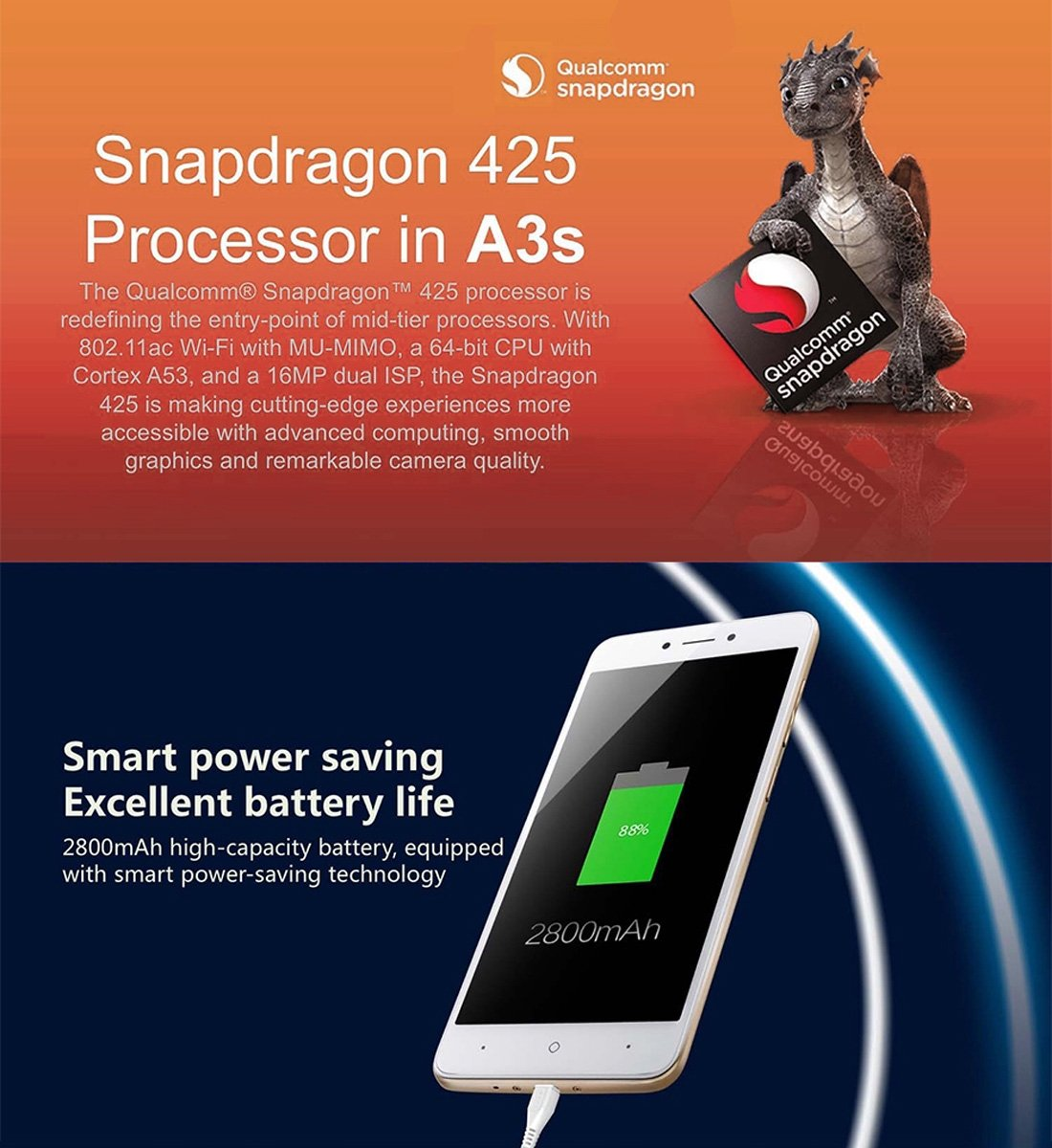 89014a26689 Amazon.com  China Mobile A3S M653