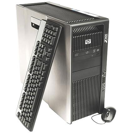 HP Z800 Workstation Desktop -2x Intel Xeon Quad Core E5620 2 4GHz, 48GB  RAM, 2TB HDD, Quadro 400, Windows 7 Pro 64-bit (Certified Refurbished)