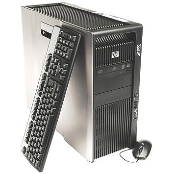 refurbished hp z800 workstation desktop 2x intel xeon quad core e5620 24ghz