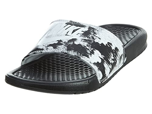 6a63699c77ae Nike Women s Benassi Just Do It. Sandal  618919-006 (6) Black