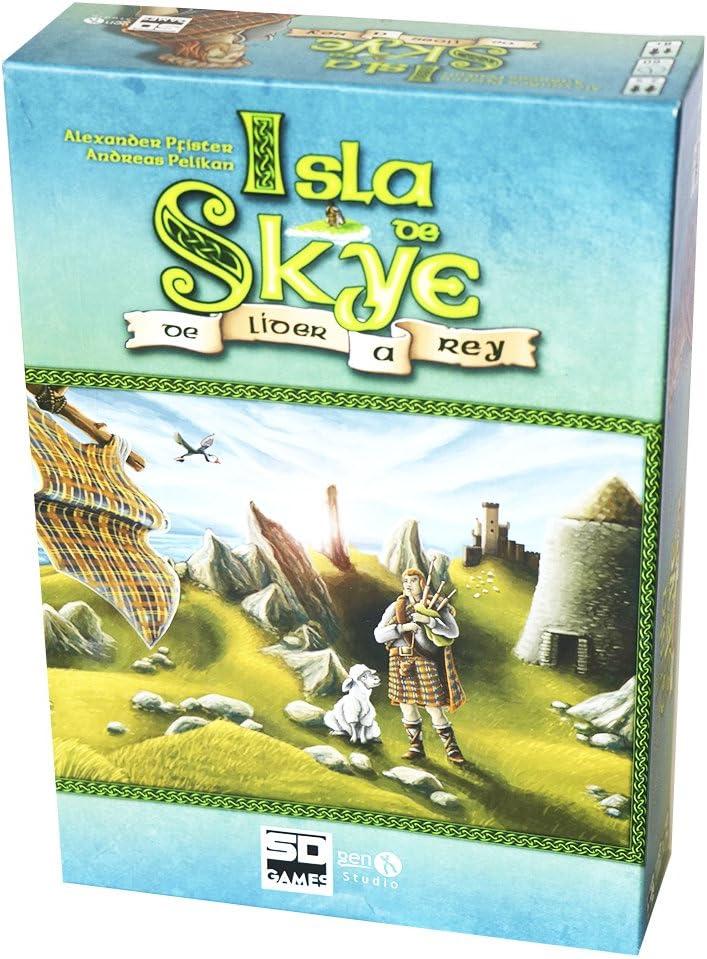 SD Games - Isla de Skye, Juego de Mesa (SDGISLSKY01): Amazon.es ...