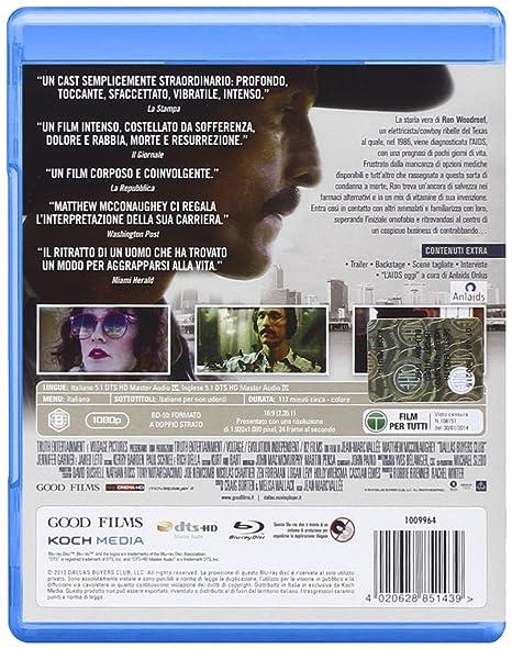 Dallas Buyers Club [Italia] [Blu-ray]: Amazon.es: Jennifer ...