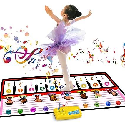 60 x 39 m Musikteppich Piano-Teppich Klavier Musik f/ür Babys multifunktional