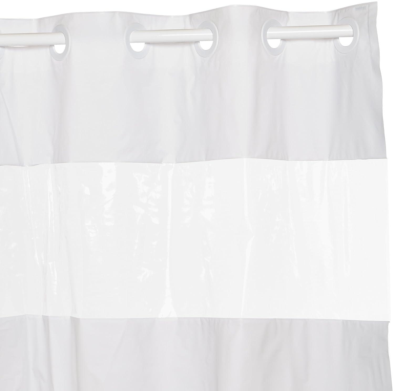 Hookless Peva Shower Curtain White Ebay