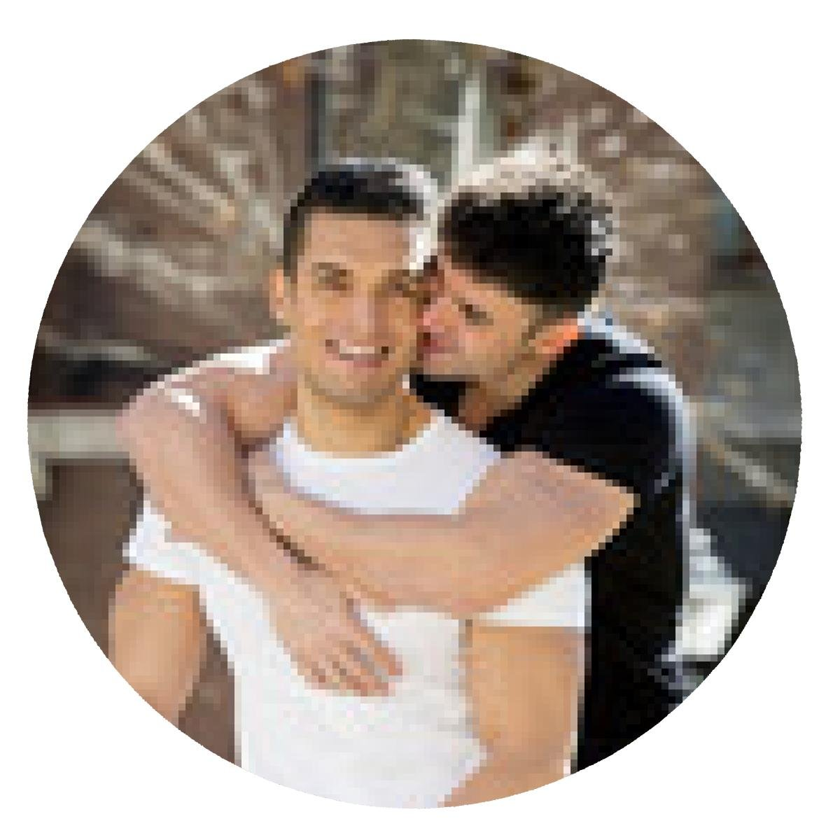 Images of young asin gay men