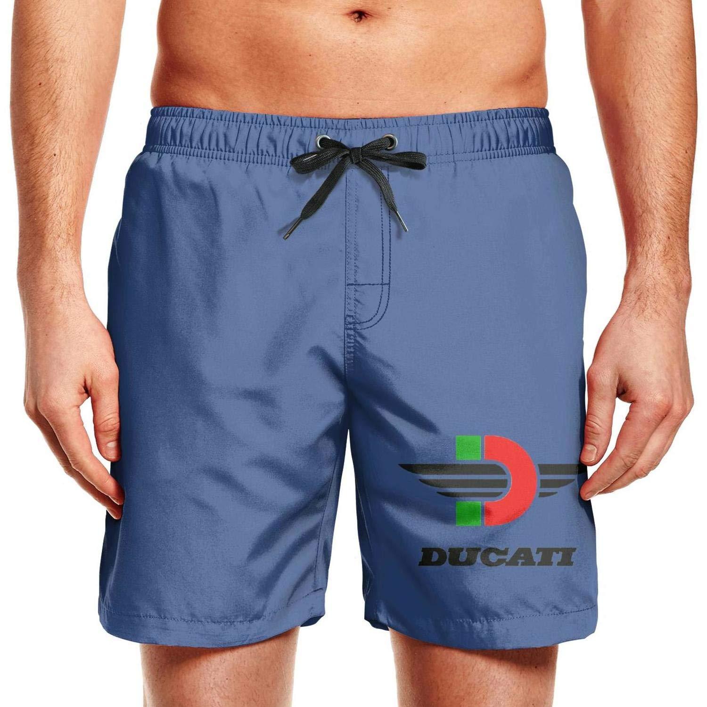 sjjpuuotcz63 Fashion Man Design Ural-motorcycle-logo5 Beach Swimming Swim Pants