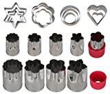 Einfac Stainless Steel Vegetable Cutter Shapes Set