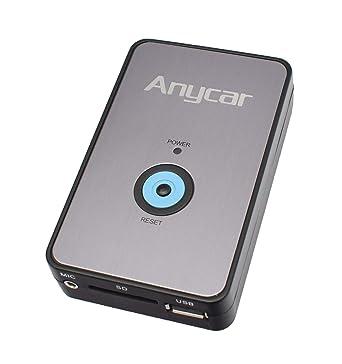 Cargador digital de MP3 con cable USB (Mazda: 323 (MPV) a partir 10/02, 626, Demio a partir de 01/00, Premacy a partir de 10/01, 3 BK hasta 12/08, 5 ...