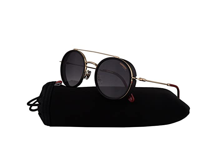 00d85dfdc65 Carrera 167/S Sunglasses Gold Red w/Dark Grey Gradient Lens 50mm ...