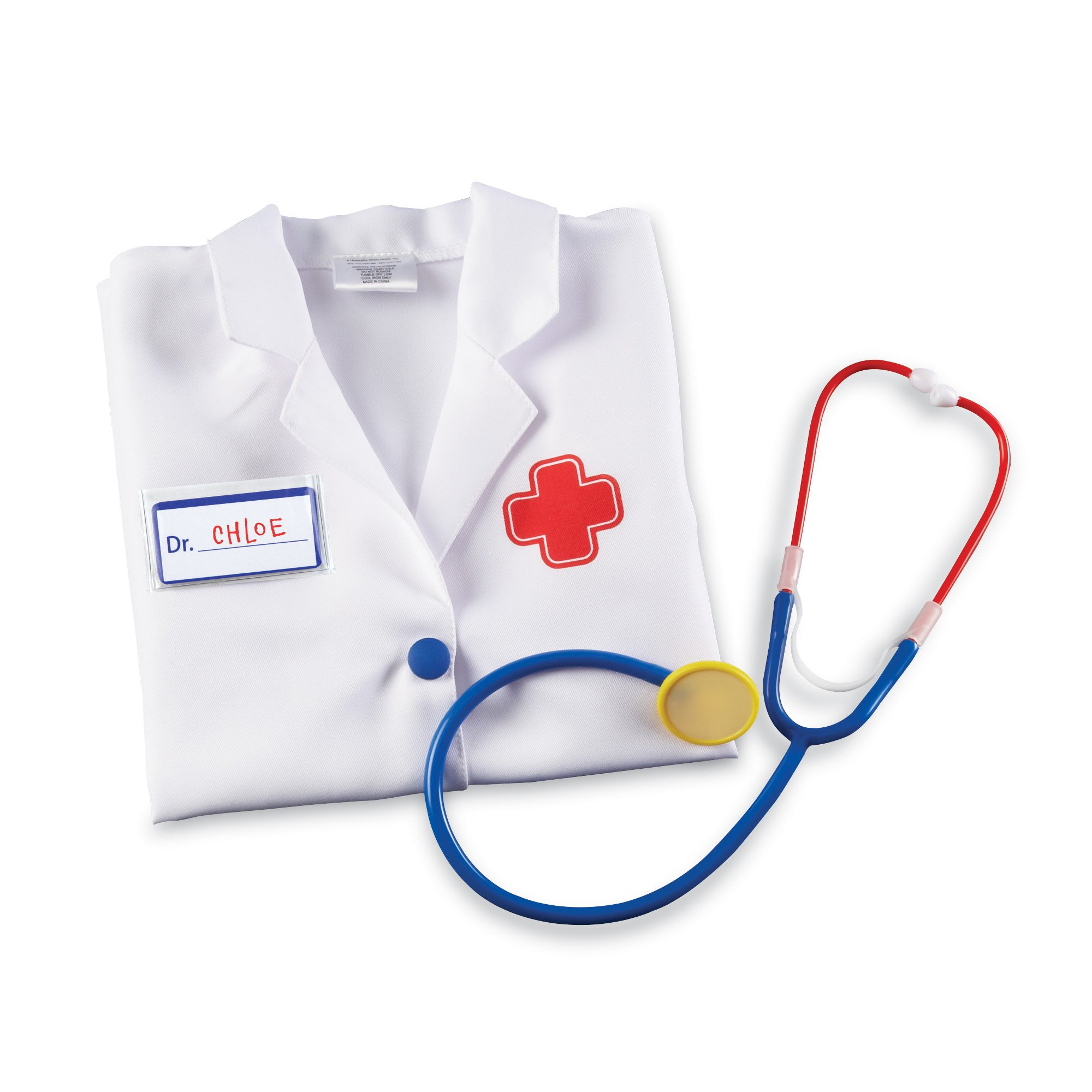 Learning Resources Doctor Play Set with Stethoscope, Pretend Play, Imagination Play, 3 Pieces, Ages 3+ by Learning Resources