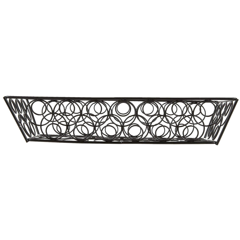 TableTop King LDLB2613 Black Loop-D-Loop Rectangular Basket 13 x 6 x 2 3//4