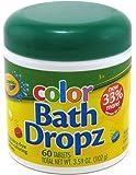 Crayola Color Bath Dropz 60 Tablets 3.59 Ounce Jar