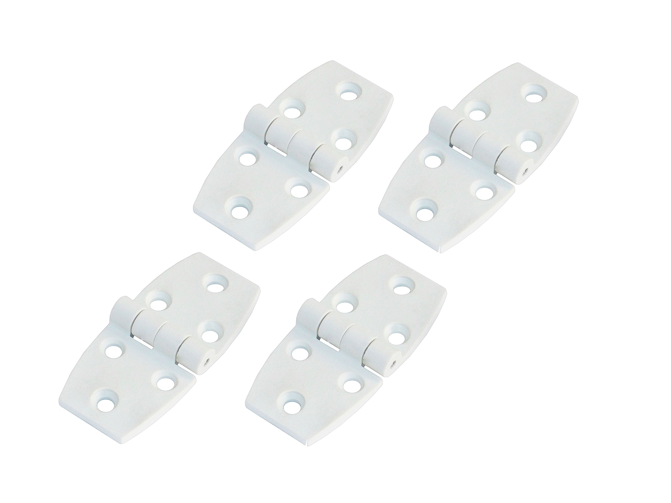 Five Oceans Plastic Door Hinge, White (Set of 4) FO-79-M4