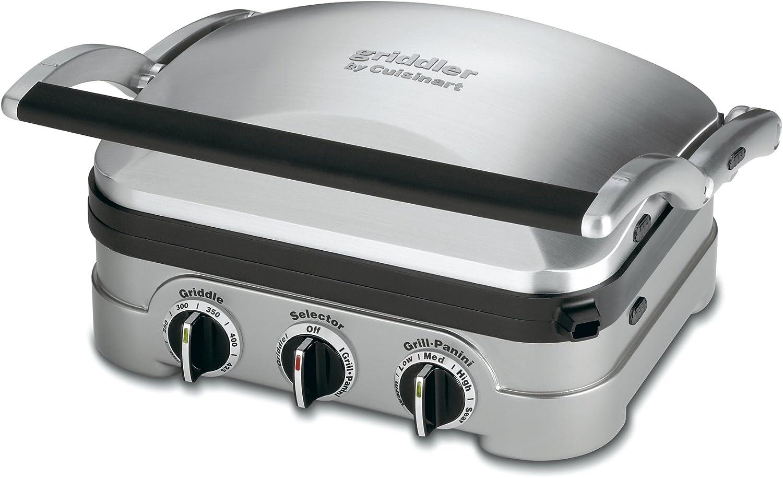 Cuisinart GR-4NAMZ Griddler, Stainless Steel