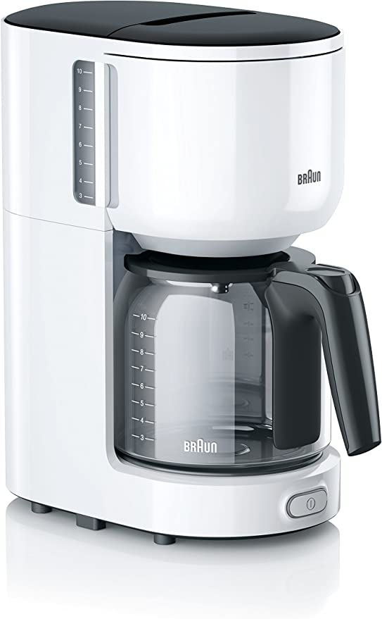 Braun KF 3100 Independiente Totalmente automática - Cafetera ...