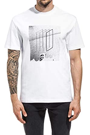 becb6897 Image Unavailable. Image not available for. Color: McQ Alexander McQueen  Mens Graphic Print T-Shirt X-Large ...