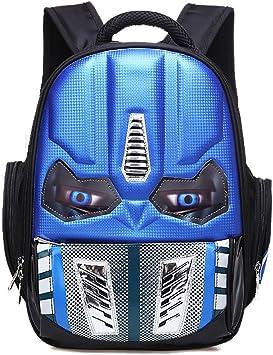 Transformers Optimus Prime Backpack School Bag Children Kids Student Boys Black