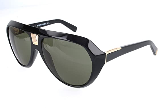 DSQUARED D Squared, Gafas de sol para Hombre, Negro (Black ...