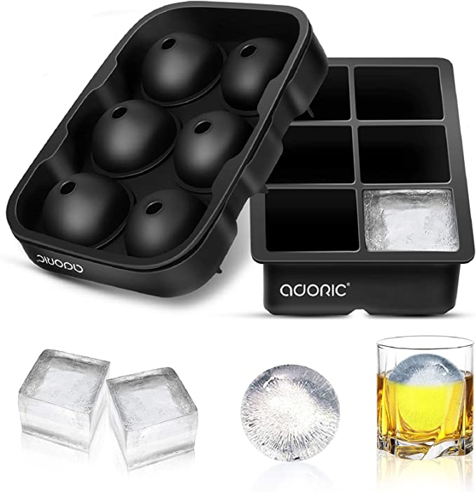 10 Hole Silicone Mold DIY Ice Cube Maker Tray Polar Bear Shaped Mould With Lid