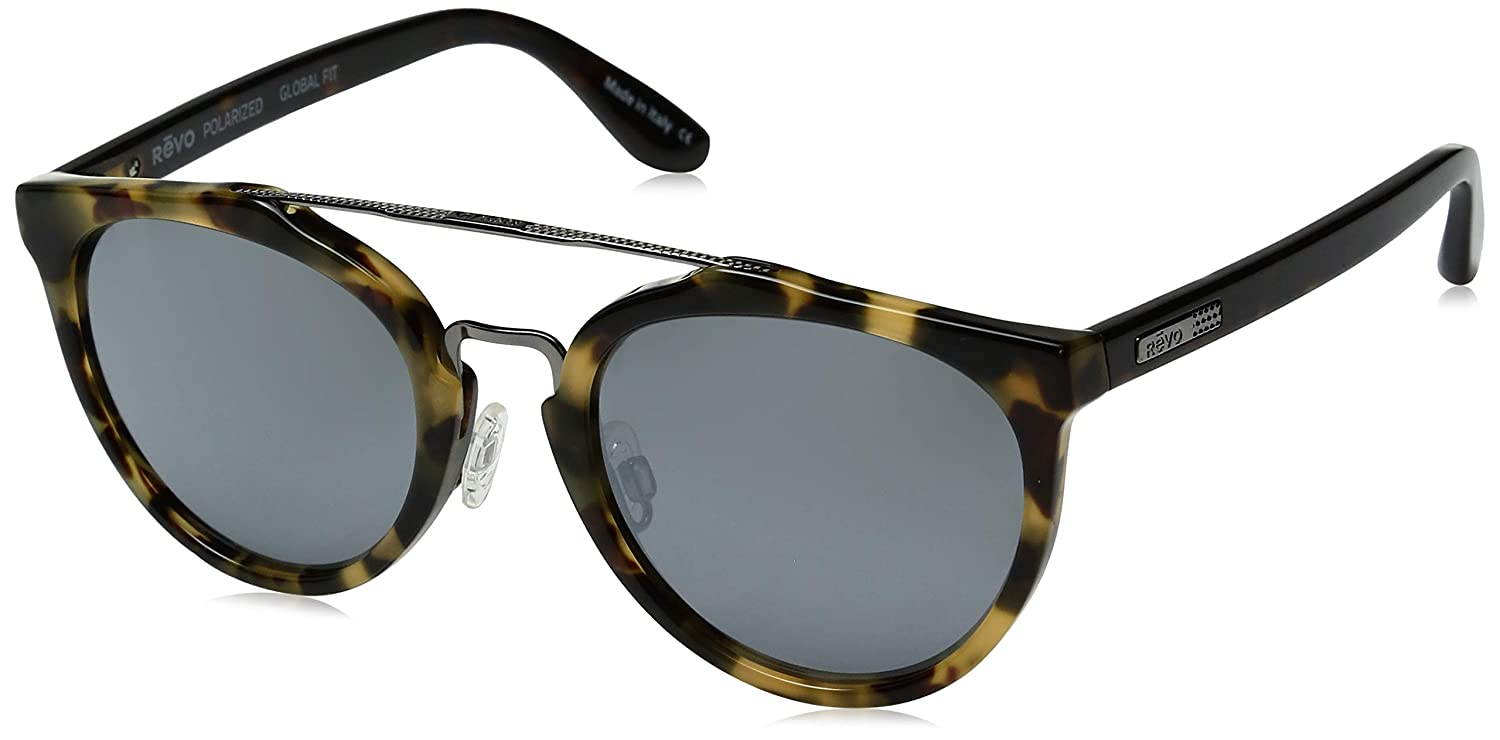 Revo Kingston 52mm High Contrast Polarized Serilium 6-Base Lens Technology Sunglasses, part of the Global Fit Collection