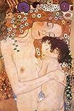 Gustav Klimt Mother And Child Art Print Poster - 24x36 Poster Print by Gustav Klimt, 24x36 Poster Print by Gustav Klimt, 24x36