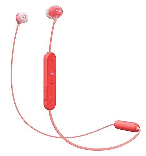 Sony WI-C300R - Auriculares inalámbricos (Bluetooth, NFC, Manos Libres),