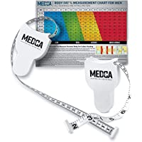 Body Tape Measure - (2 Pack) Measuring Tapes for Body and Fat Weight Monitors, (Inches & cm) Retractable Tape Measure…
