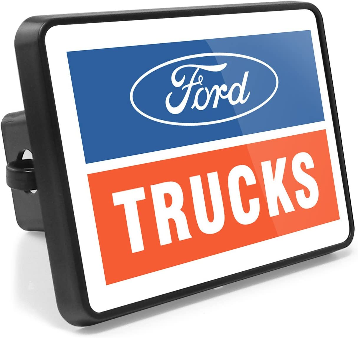 iPick Image for Ford SVT UV Graphic ABS Plastic 2 inch Tow Hitch Cover