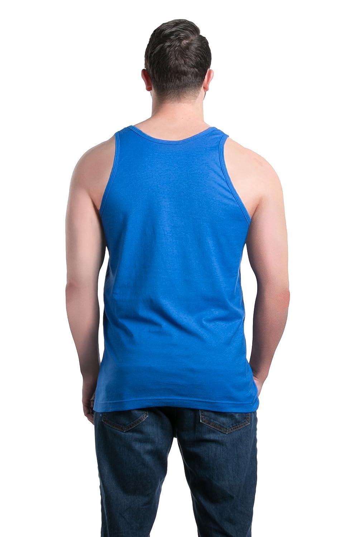 shop4ever Autism Flag Blue Mens Tank Top Autism Awareness Tank Tops