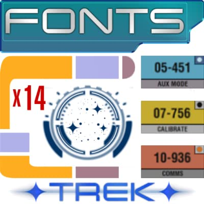 ✦ TREK ✦ Fonts Pack