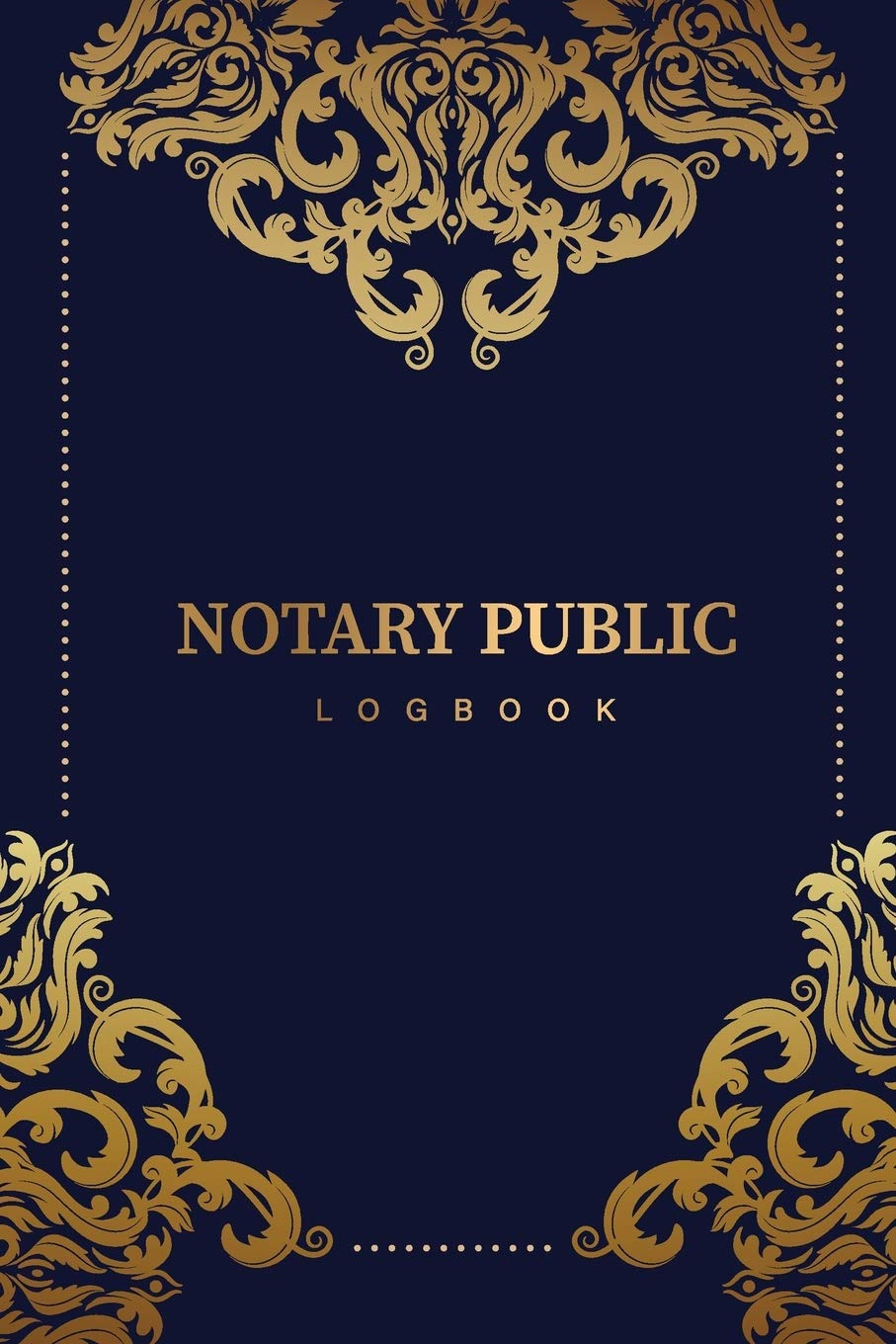 Soft Cover Notary Public Logbook