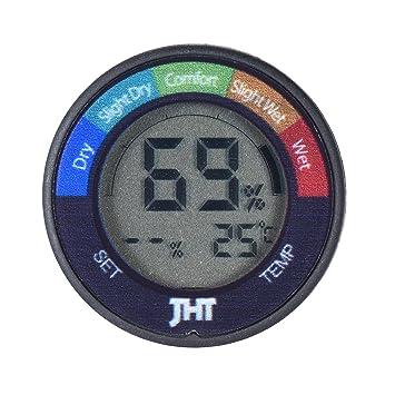 Ammoon Mini instrumento digital humedad y sensor de temperatura Tester Termómetro Higrómetro con LCD Pantalla para