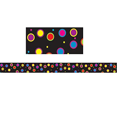 "Ashley Productions Color Dots Magnetic Magi-Strip (12 Piece), 3/4"" x 12"": Toys & Games"
