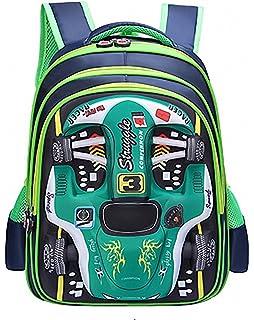 83dc1ceb3f42 Cool Racing Car Kid s Shoolbag Backpack Bookpack Daypack Unisex Waterproof School  Bags for Boys